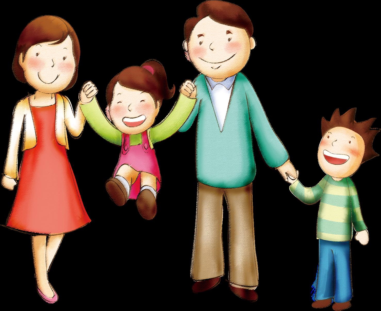 Картинки семья с детьми для детского сада