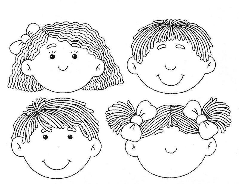 Чего не хватает на лице картинки для детей