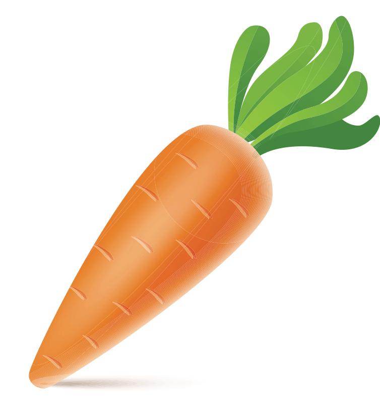Морковь на белом фоне картинка