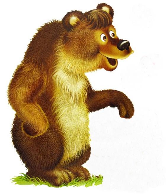 Картинка сказочный медведь для детей