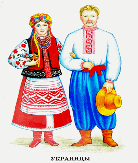 Национальные украинские костюмы картинки