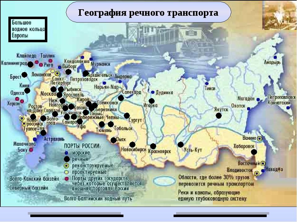 География транспорта россии доклад 2059