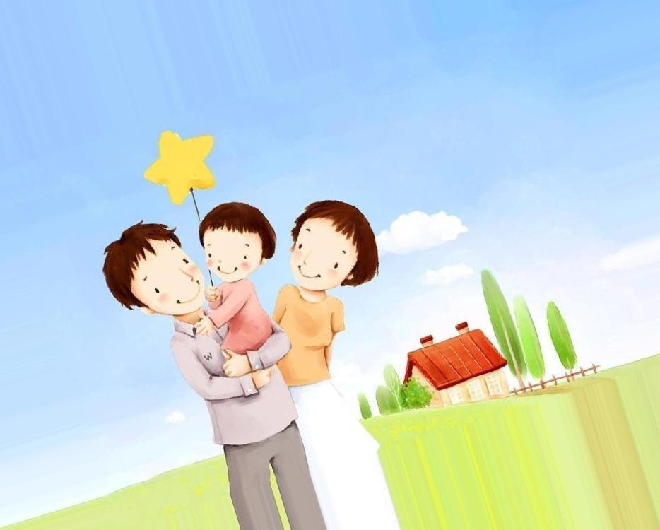 Добрые картинки про семью