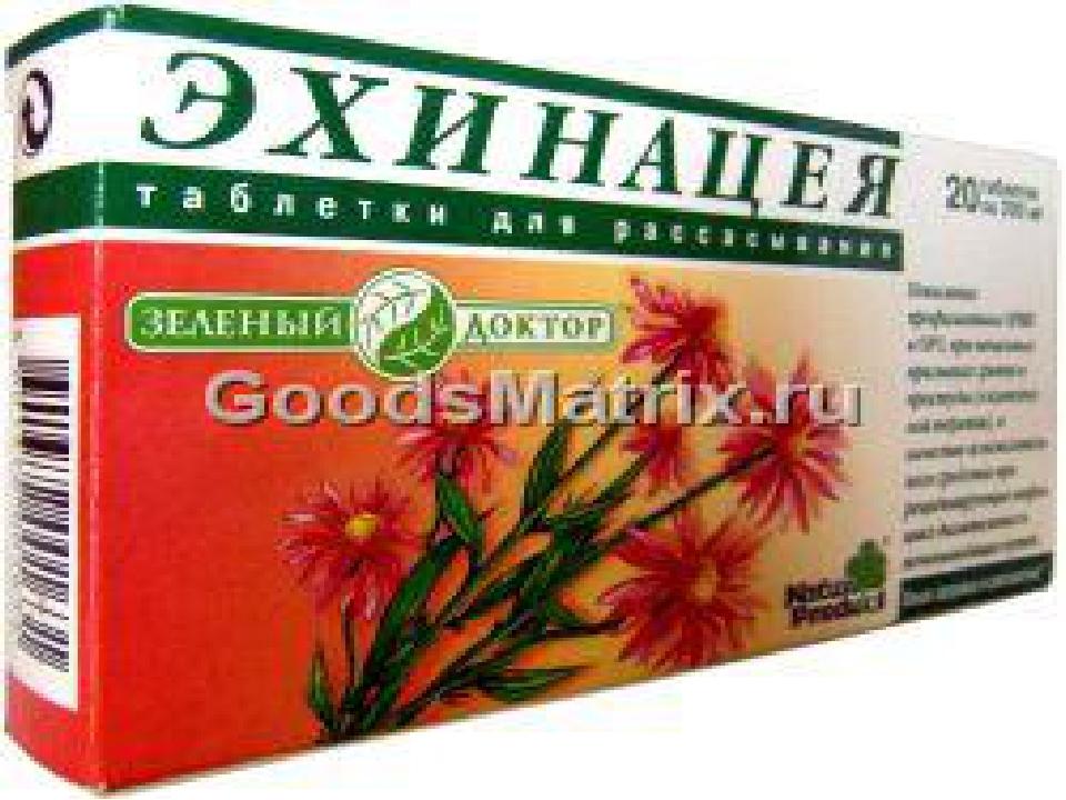 Эхинацея (Echinacea) NSP 50 капсул Повышает сопротивляемость организма инфекц...