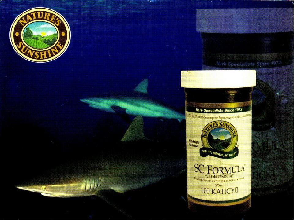Shark Rei Formula (Шарк Рей Формула) NSP 100 капсул Усиливает иммунную защиту...