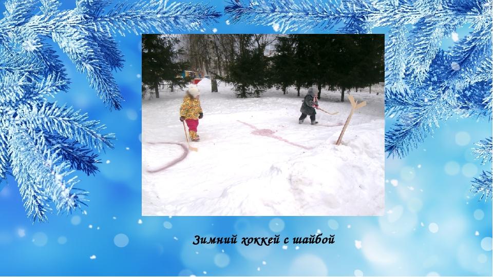 Зимний хоккей с шайбой