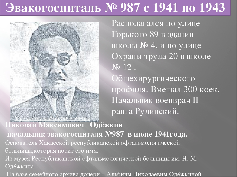 Располагался по улице Горького 89 в здании школы № 4, и по улице Охраны труд...