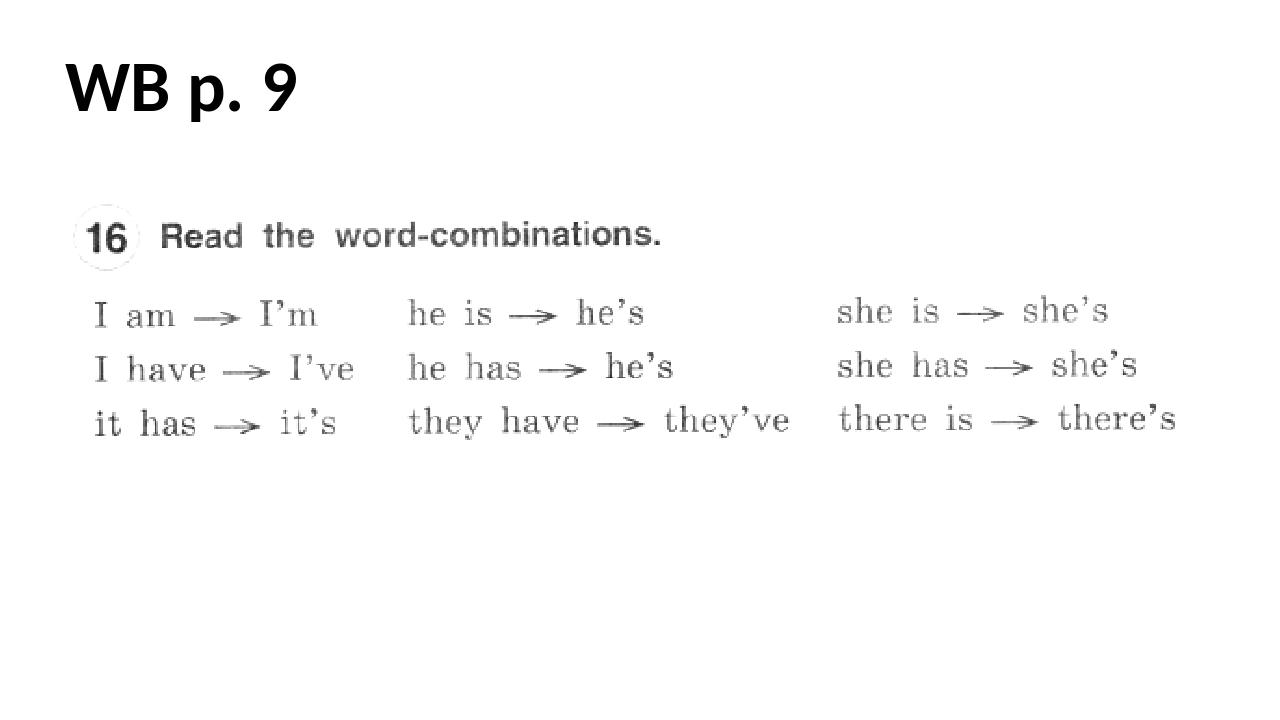 WB p. 9
