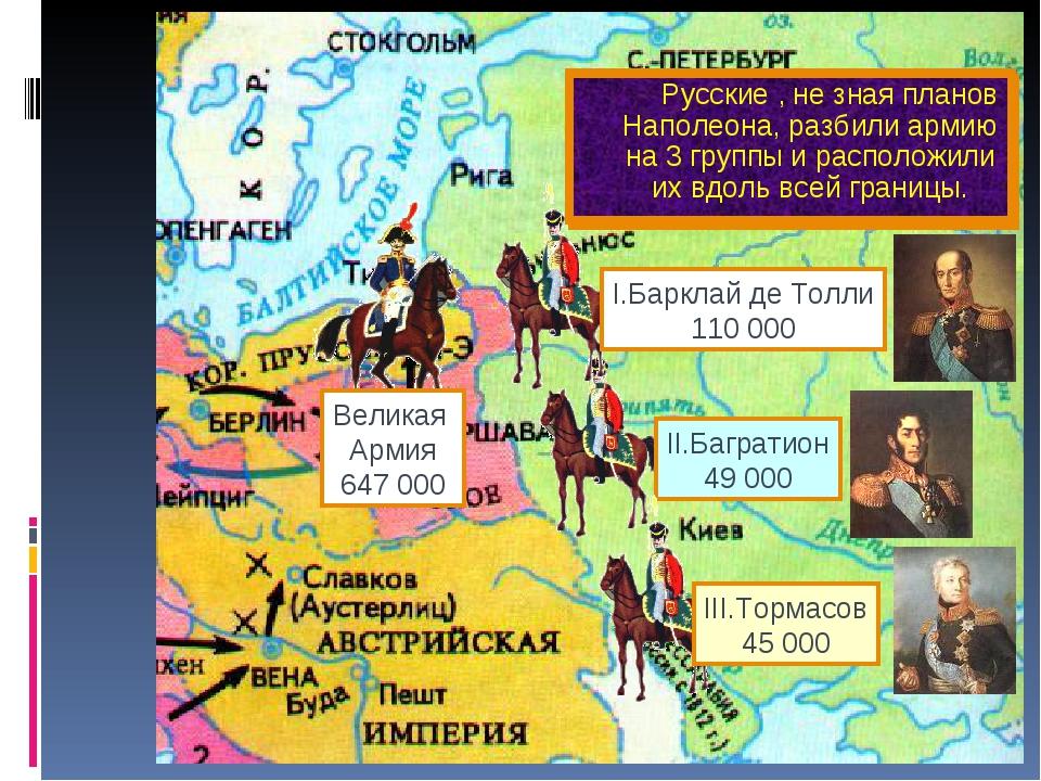 Летом 1812 г. французская ар-мия сосредоточилась на территории Польши. Наполе...