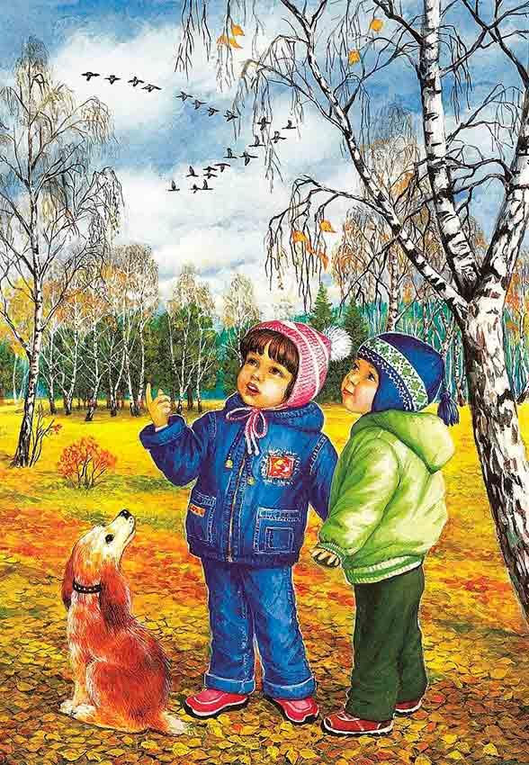 Картинки по теме осень для детей, подруге спасибо дружбу