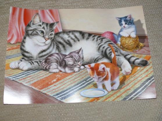 такое картинка кошка с котятами по ушаковой утверждает, что это