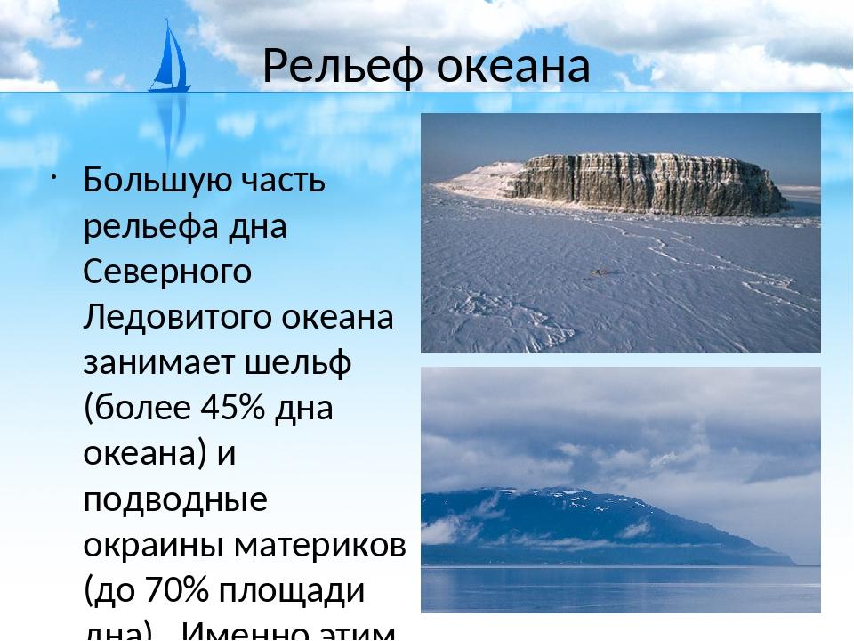 большую часть океана занимают обл займ отзывы