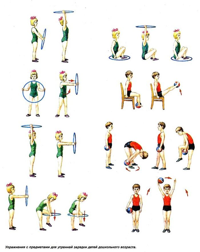 физические упражнения дома для с картинками