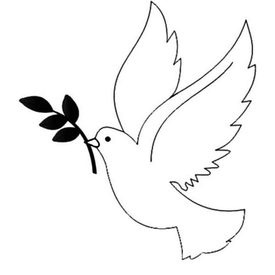 Креативная днем, как нарисовать голубя на открытку 9 мая