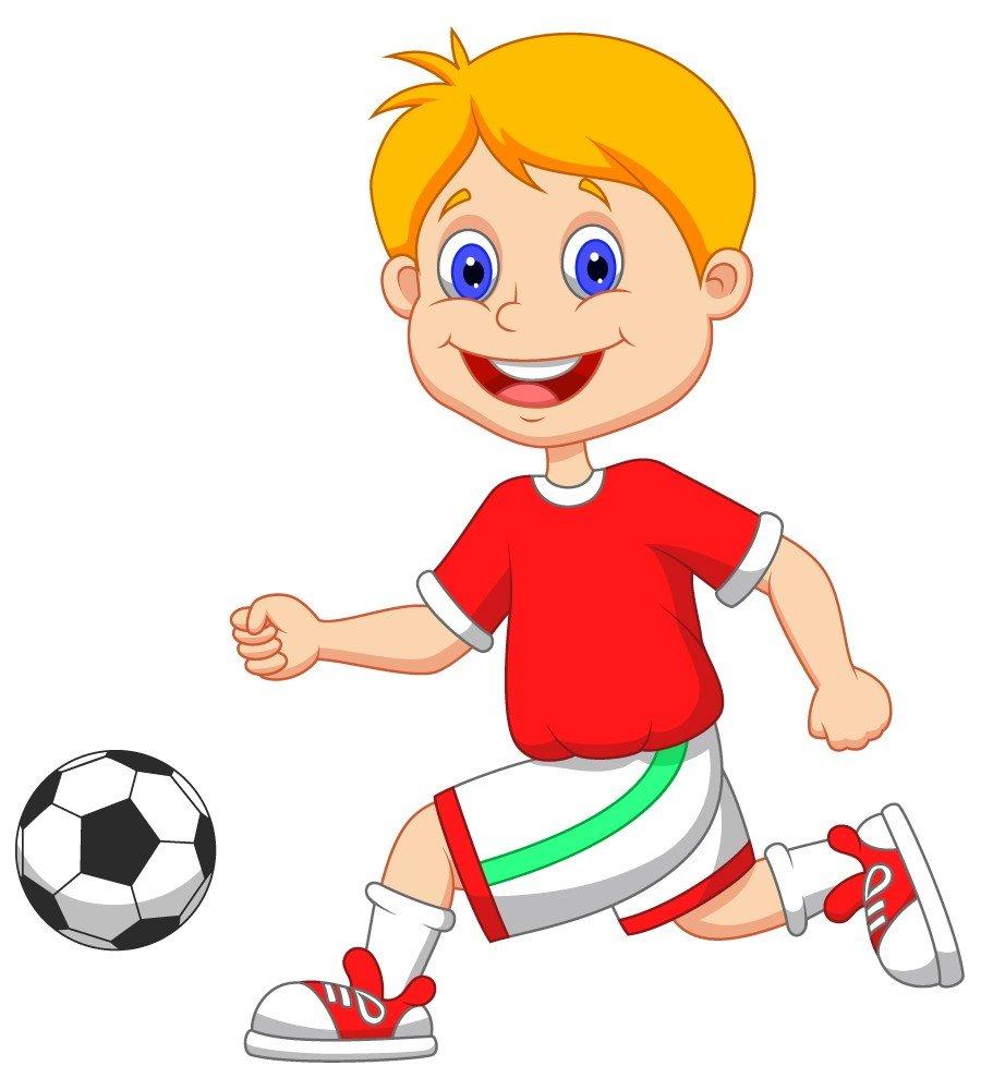 Мальчик занимается спортом картинки для детей