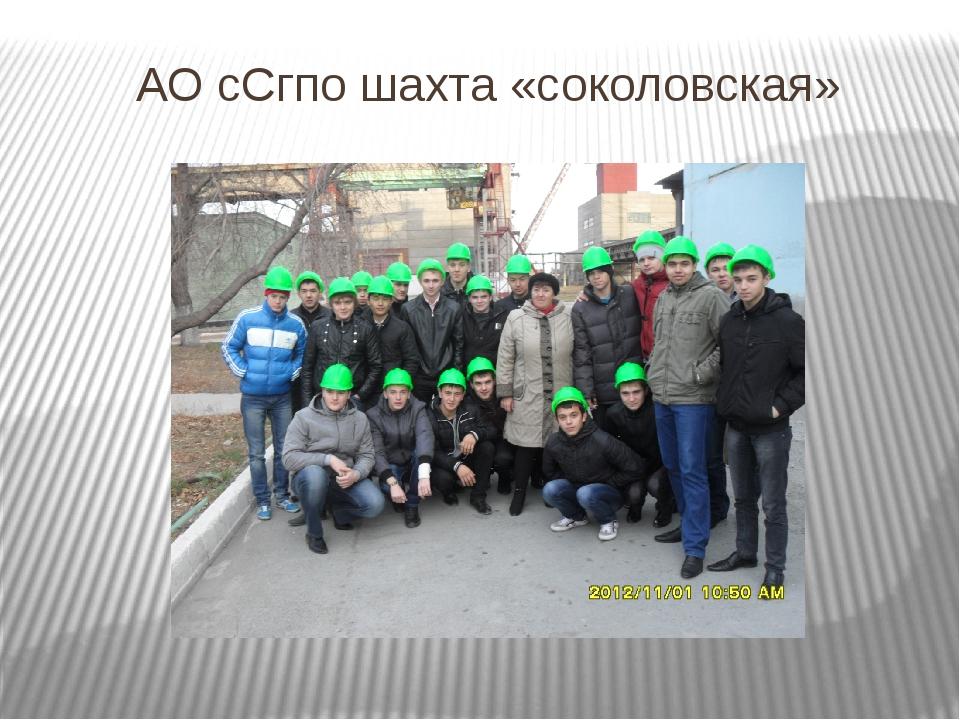 Экскурсия ФРПО Ао ССГПО