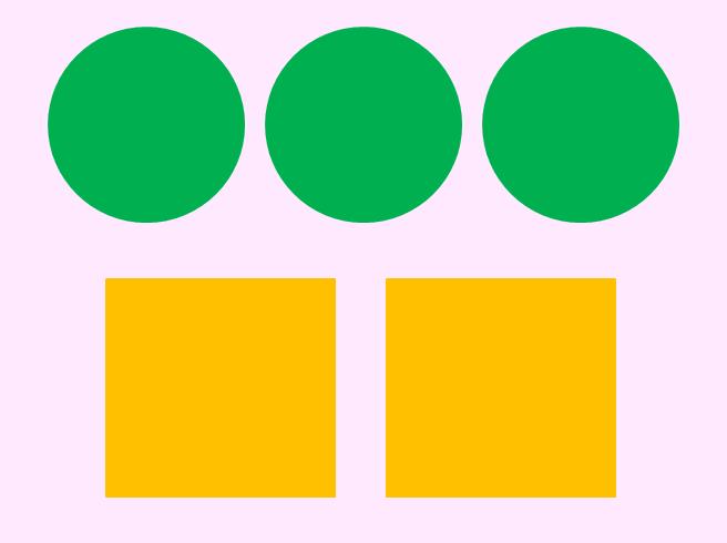 Нарисованные, картинки с кругами и квадратами