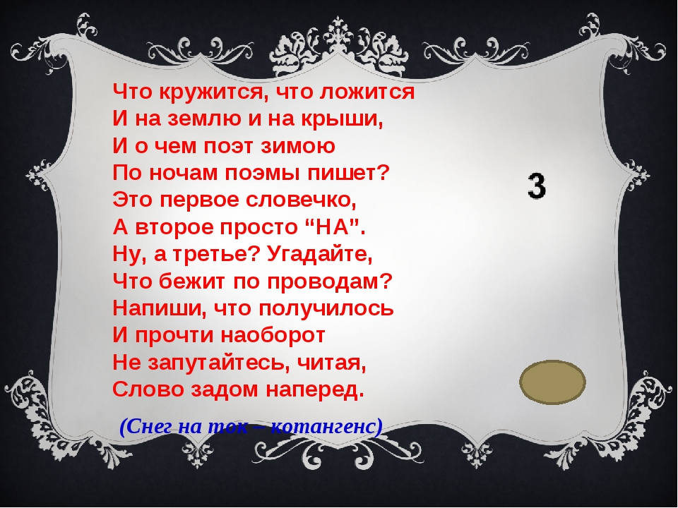 Что кружится, что ложится И на землю и на крыши, И о чем поэт зимою По ночам...