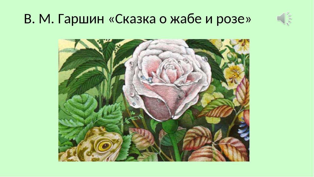 Картинка гаршин сказка о жабе и розе