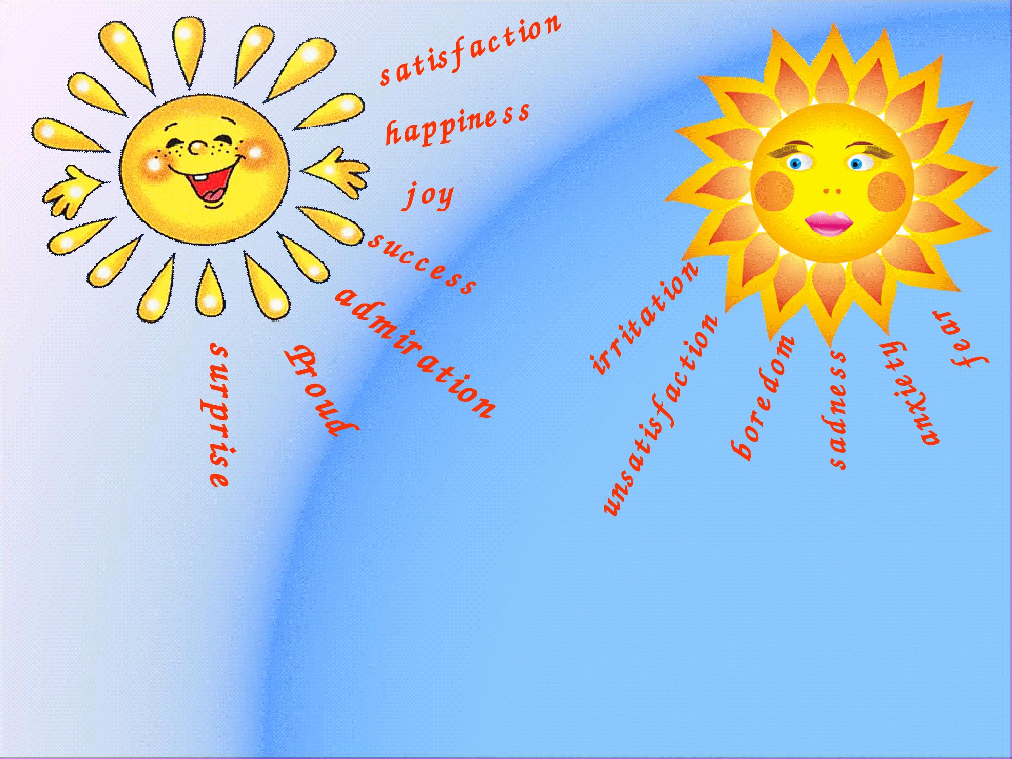 картинки для психологического настроя про солнышко существующие способы очистки